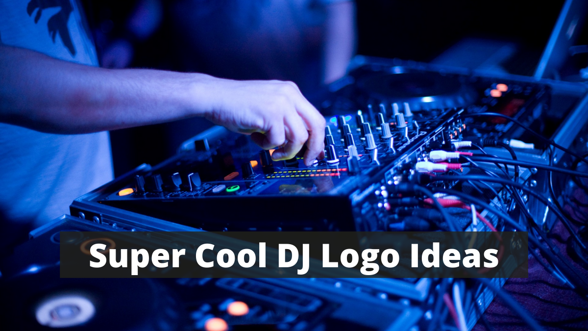 Super Cool DJ Logo Ideas