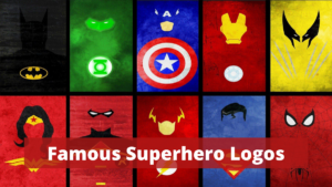 Most Famous Superhero Logos